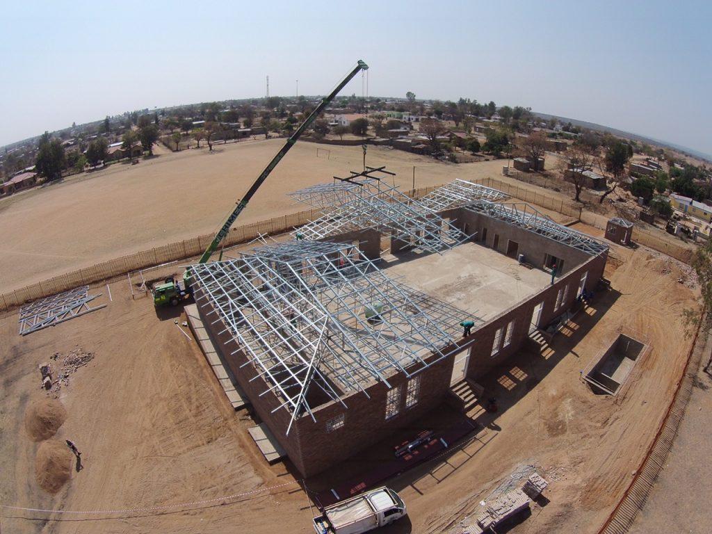 Siyabuswa Community Hall - Trusses